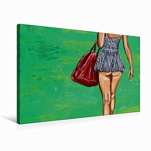 Premium - Lienzo de lienzo (75 x 50 cm, horizontal, diseño de calendario de mujeres hoy y sus princesas de sueño), imagen sobre bastidor, imagen de la película