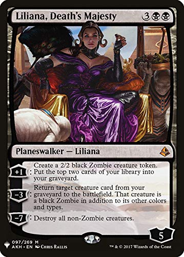Magic: The Gathering - Liliana, Death's Majesty - Mystery Booster - Amonkhet
