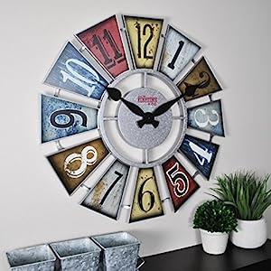 51VnWOUEb5L._SS300_ Coastal Wall Clocks & Beach Wall Clocks