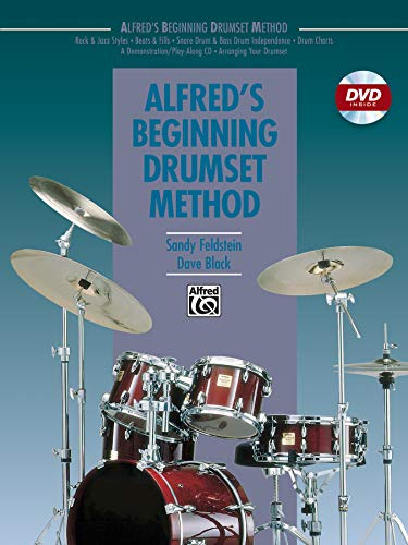 Alfred's Beginning Drumset Method (Book & DVD)