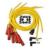 Bravex 4040 Spark Plug Wire Set 8mm - Yellow