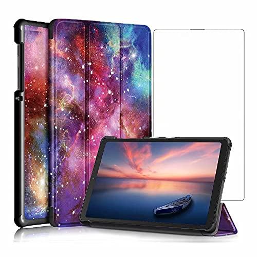 DoAo Funda para Lenovo Yoga Pad Pro, ultra delgada con función de soporte Slim PU cuero Smart Case Fitsbn Lenovo Yoga Pad Pro