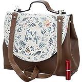 DOGO Damen Handtasche - Umhängetasche - vegan - Handy Bag - Real Life