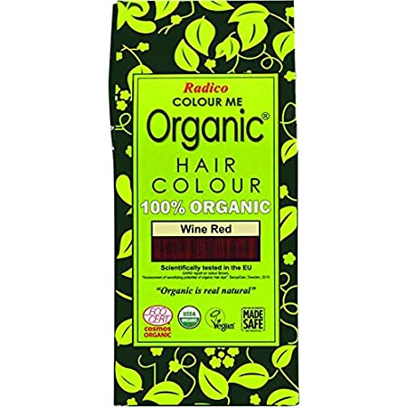 Radico - Tinte vegetal orgánico para el cabello - Borgoña ...