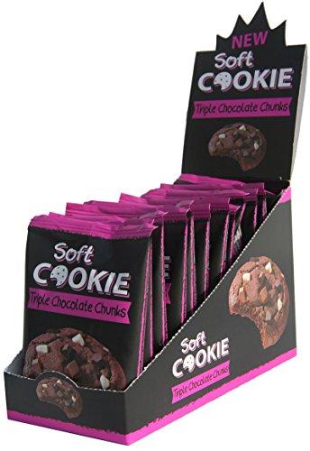 Soft COOKIE Triple Chocolate Chunks 12 x 45g