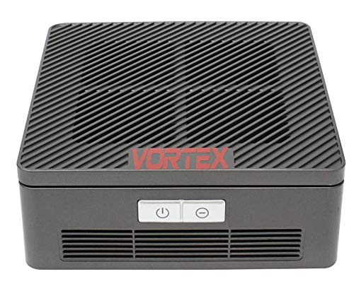 Vortex 3-in-1 UVC/HEPA/Negative Ionizer Automobile Air Purifier with UV Light for Cars Allergies Pets Hair Smokers in Bedroom, H13 True HEPA Filter, Quiet Air Cleaner, Remove 99.97% Smoke Dust Mold Pollen
