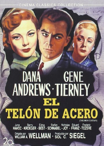 The Iron Curtain ( Behind the Iron Curtain ) [ NON-USA FORMAT, PAL, Reg.2 Import - Spain ] by Dana Andrews