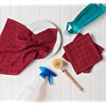 DII-Cotton-Terry-Windowpane-Dish-Cloths-12-x-12-Set-of-6-Machine-Washable-and-Ultra-Absorbent-Kitchen-Bar-Towels-Solid-Wine