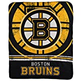 Northwest NHL Fade Away Printed Fleece Throw, 50' x 60' (Boston Bruins)