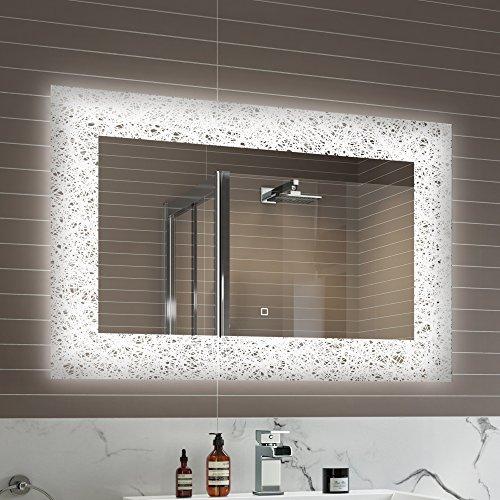 Soak Specchio di Design per Bagno con Illuminazione a...