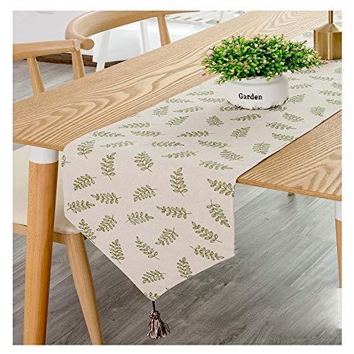 WXIAO Moderne tafelloper, diner feestjes, elegante modieuze stoffen decoratie, kwasten, bruiloft, decoratie, catering evenement, koffie, eten dresser sjaal