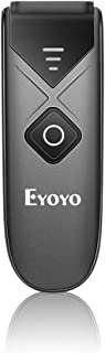 Eyoyo Bluetooth Barcode Scanner, Mini Portable Barcode Reader with USB Wired/Bluetooth/ 2.4G Wireless Connection 1D 2D QR ...