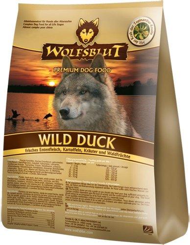Wolfsblut | Wild Duck Adult | 500 g | Ente | Trockenfutter | Hundefutter | Getreidefrei