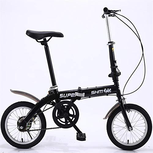 ZXM Vélo Pliant de 14 Pouces, vélo Pliant Ultra-léger pour Hommes et Femmes Adultes, vélo...