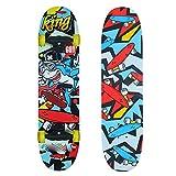 W.W Skateboarding Kinder Skateboard Anfänger Double Rocker Flash Allrad Skateboard