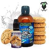 Kit Alquimia Vapeo | Biscuit Au Lait Aroma Concentrado + Base Vapeo - 70VG/30PG - 100 ml | Sin Nicotina: 0mg | Para Vaper Cigarrillo Electronico | Sabor Flavour