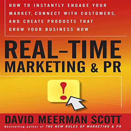 Real Time Marketing and PR audiobook cover art