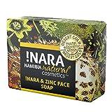 Nara Seife mit Zink, handgemachte Naturkosmetik Öl-Seife zur täglichen Gesichtspflege und...