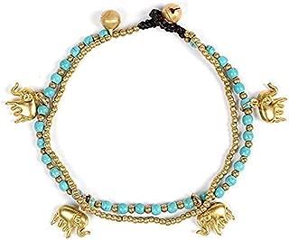 turquoise elephant jewelry