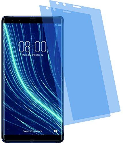 4ProTec 2X Crystal Clear klar Schutzfolie für Archos Diamond Omega Bildschirmschutzfolie Displayschutzfolie Schutzhülle Bildschirmschutz Bildschirmfolie Folie