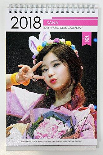 サナ トワイス - 2018-2019 PHOTO DESK CALENDAR 卓上カレンダー [韓国盤]
