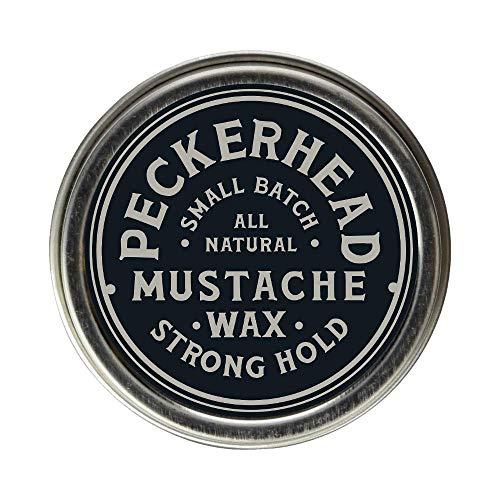 Peckerhead Mustache Wax, Strong Hold
