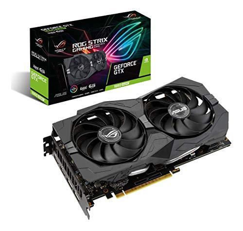 ASUS ROG Strix GeForce GTX 1660 Super Advanced 6GB Edition GDDR6 HDMI 2.0 DP 1.4 Gaming Graphics Card (ROG-STRIX-GTX1660S-A6G-GAMING)
