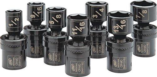 "Ingersoll Rand SK4H7UN 1/2"" Drive SAE Universal Impact Socket Set (7 Piece)"