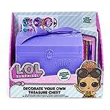 L.O.L. Surprise 42-0043 Decora tu propio cofre de joyería...