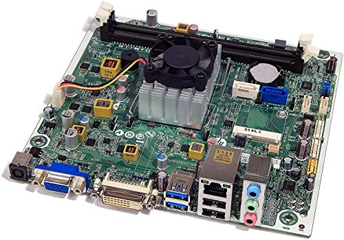 New MB for HP Pavilion 550-A114 110-510 251-A10 PC Motherboard with AMD CPU and Fan Heatsink 767104-001