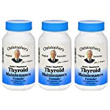 Dr. Christopher's Thyroid Maintenance Capsules, 100 Count (Pack of 3)