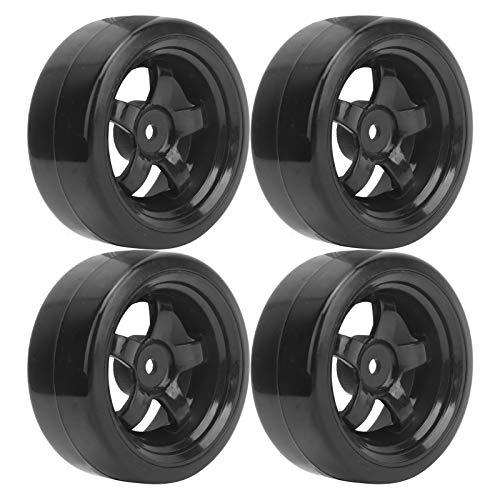 FEBT Neumáticos RC para WPL, excelente Durabilidad Accesorio para Coche RC Neumáticos de Goma RC Ruedas RC para Coche WPL D12 1/10 RC
