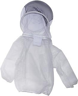 NOWON Equipo de protección apícola Transpirable Abeja Anti-Abeja Medio Traje