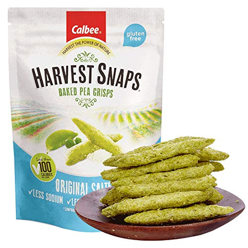 卡乐比(Calbee)休闲零食 膨化食品 咸味豌豆脆93g Calbee snack puffed food salty pea crisp 93g