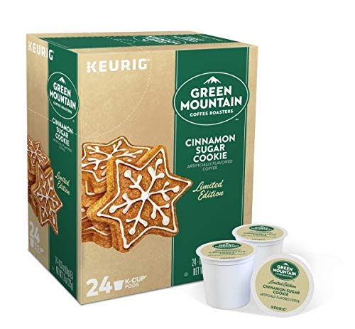 Green Mountain Coffee Roasters Cinnamon Sugar Cookie, 24 K-Cup Pods