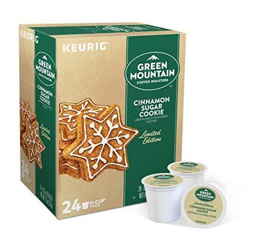 Green Mountain Coffee Roasters Cinnamon Sugar Cookie, 24 K-Cup Pods