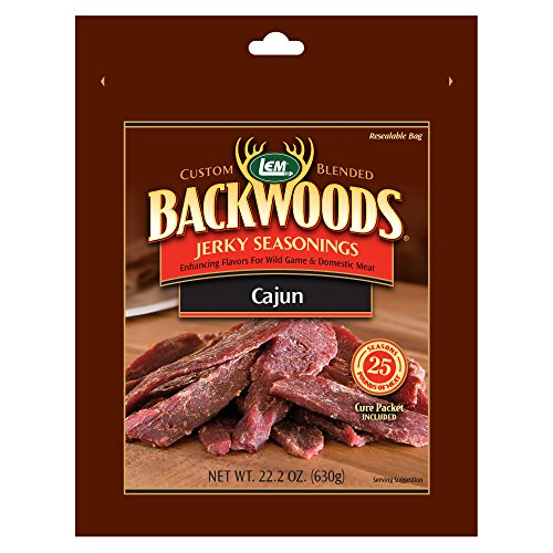 LEM Backwoods Cajun Seasoning with Cure Packet