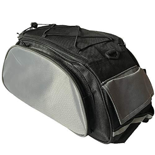 Check Out This Mountain Bike Rear Shelf Tail Bag-Bicycle Bag Mountain Bike Bicycle Multifunctional S...