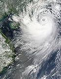 Tropical Storm Koppu nearing landfall over southern China Poster Print (24 x 32)