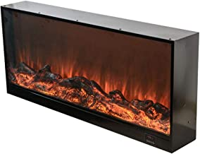 ZFDMDD Decorative heating mantle built - freestanding E-le-ctr-ic fireplace with remote or built-in stove