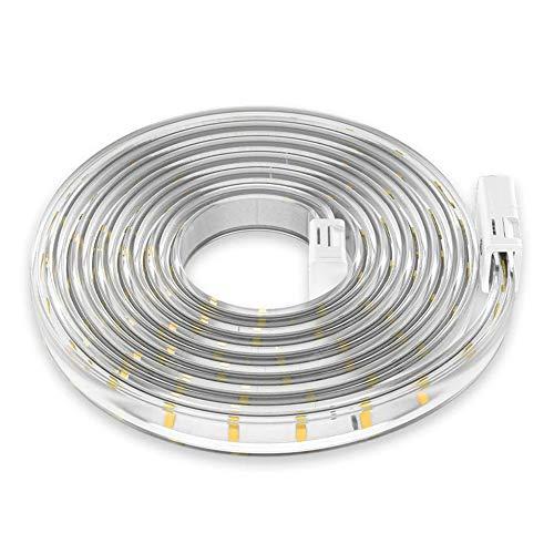 Bedler 220 – 240 V 5 m / 16,4 ft LED tiras luminosas Kit regulable flexible de cuerda ligera para iluminación doméstica cocina Mesita de noche