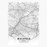 Wolvpower City Bielefeld Streets Town Street Village Map