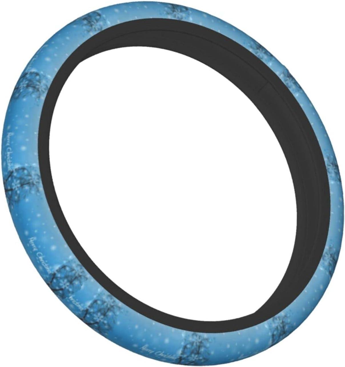 shipfree XfaithX Gift Boutique Blue supreme Merry Steering Christmas Wheel Co Car