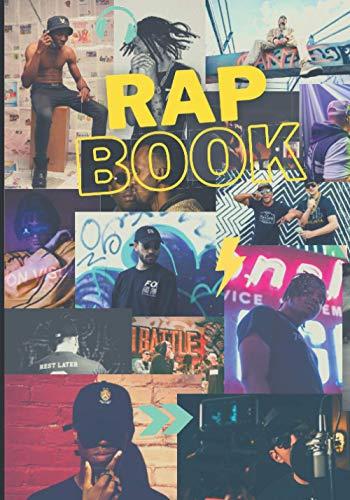 RapBook: Carnet de notes pour textes (140 pages) - 7 x 10 pouces - Cahier d'écritures pour rap, hip hop, battle, punchlines...