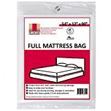 Moving Supplies (1 Pack) Full Size Mattress Bag 54' x 12' x 90' mattress covers