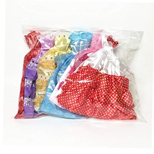 Deanyi 5 PCS Handgemachte Neuheit Kleider Hochzeit Kleid Kleider Kleidung für die Puppe (gelegentliche Farbe / Style)