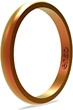 Enso Rings Halo Legend Silicone Ring   Made in The USA   Lifetime Quality Guarantee   an Ultra Comfortable, Breathable, and Safe Silicone Ring