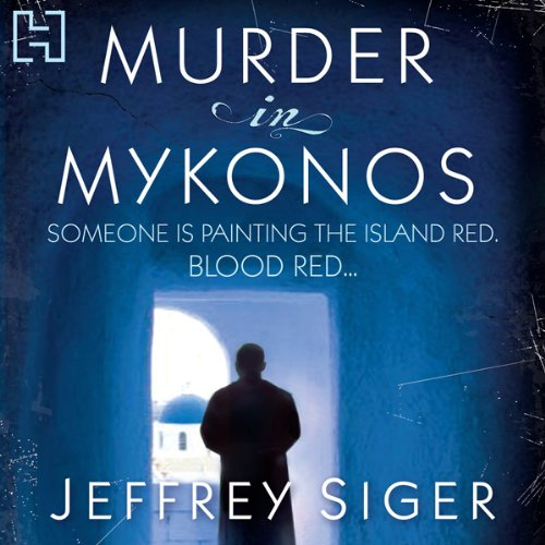 Murder in Mykonos audiobook cover art