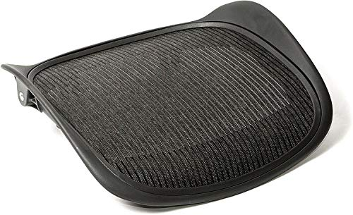 Replacement Seat for Herman Miller Classic Aeron Size B Medium (Black Mesh)