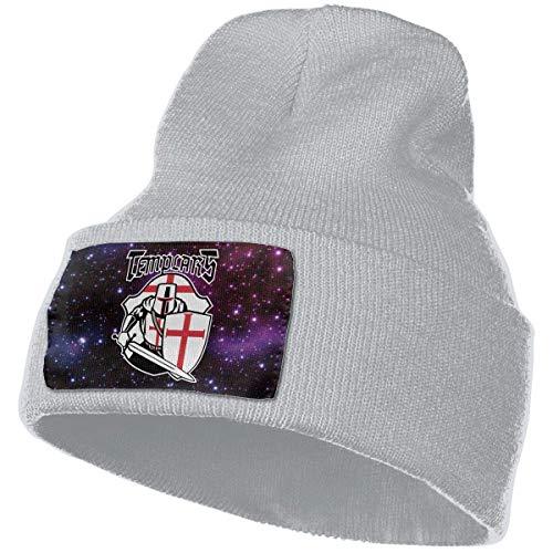 AEMAPE Sombrero de Punto Unisex Gorro de Calavera de Moda Sombreros de Tejer - Caballero templario